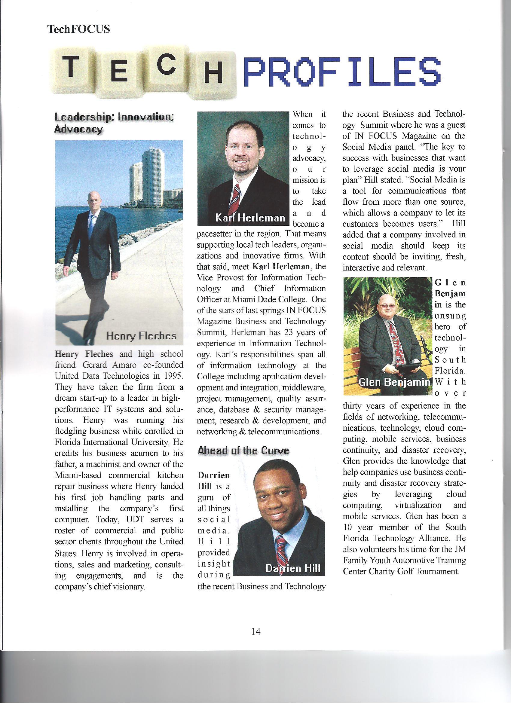 Glen In Focus Magazine