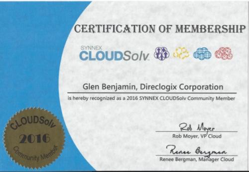 glen-benjamin_synnex-cloudsolv-community-member